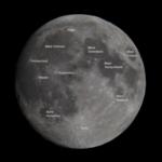Mond im 2ten Viertel